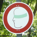 Schild Nicht Sehen, 1993